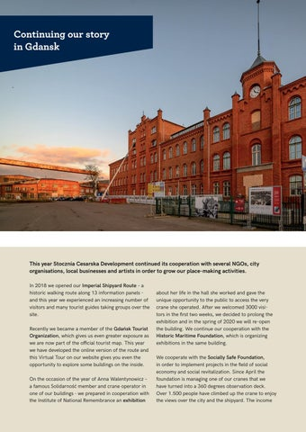 Page 18 of Continuing our story in Gdansk