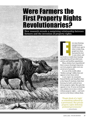 Page 17 of Were Farmers the First Property Rights Revolutionaries?
