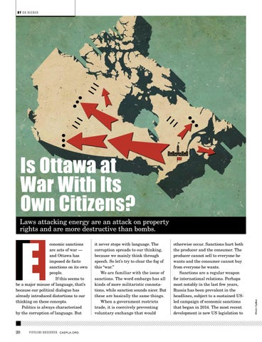 Page 20 of Is Ottawa At War With Its Own Citizens?