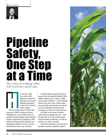 Page 22 of Pipeline Safety, One Step at a Time