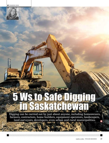 Page 37 of Digging Safely in Saskatchewan