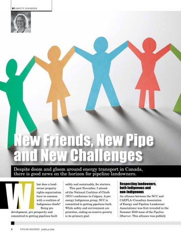 Page 4 of New Friends, New Pipe and New Challenges