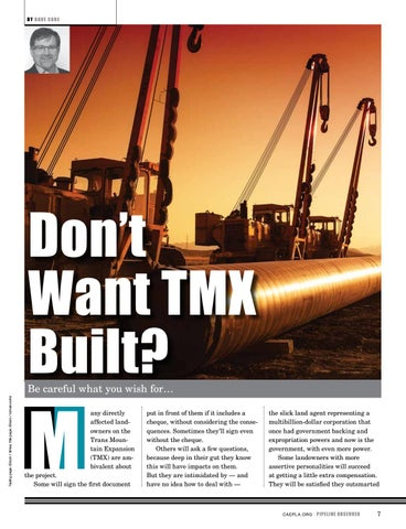 Page 7 of Don't Want TMX Built?