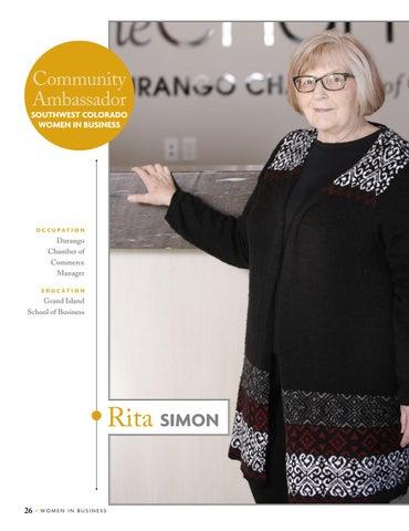Page 28 of Rita Simon, Community Ambassador