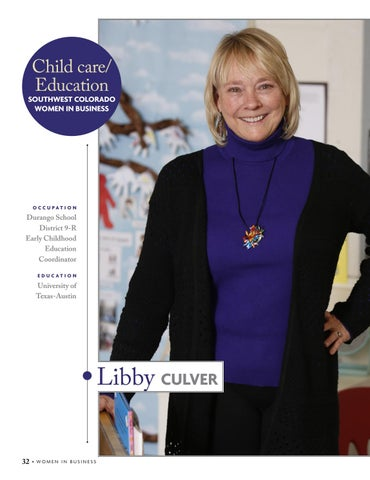 Page 34 of Libby Culver, Child care/Education