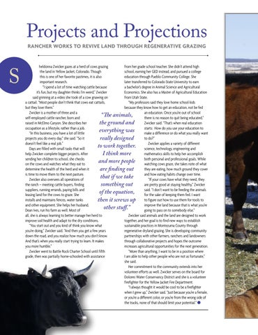 Page 36 of Sheldonna Zwicker, Agriculture