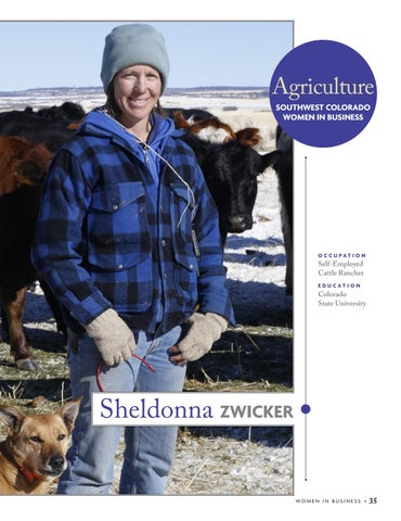 Page 37 of Sheldonna Zwicker, Agriculture