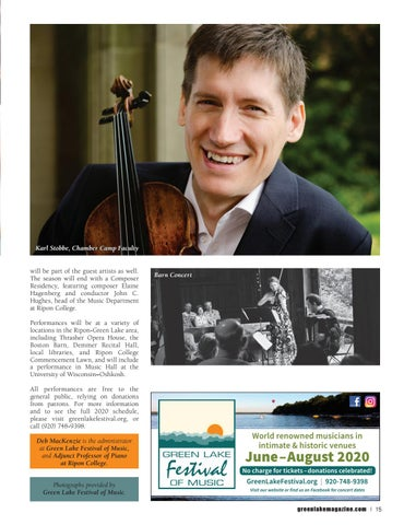 Page 15 of Green Lake Festival of Music