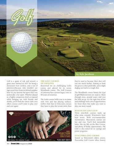 Page 16 of Golf Green Lake, Wisconsin