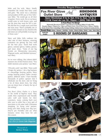 Page 21 of Fox River Glove Outlet