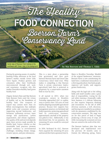 Page 24 of The Healthy Food Connection Boerson Farm's Conservancy Land