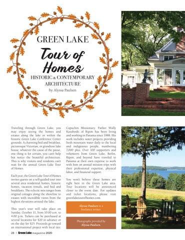Page 28 of Green Lake Tour of Homes, Green Lake, WI