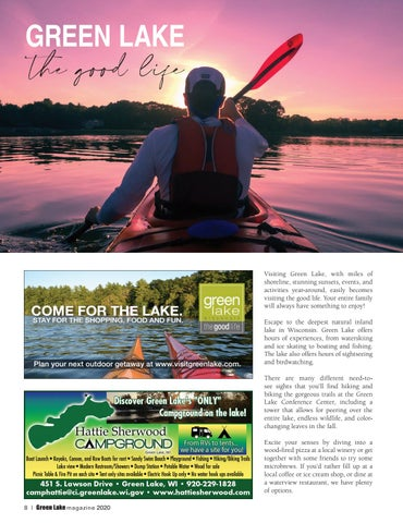 Page 8 of Green Lake the Good Life