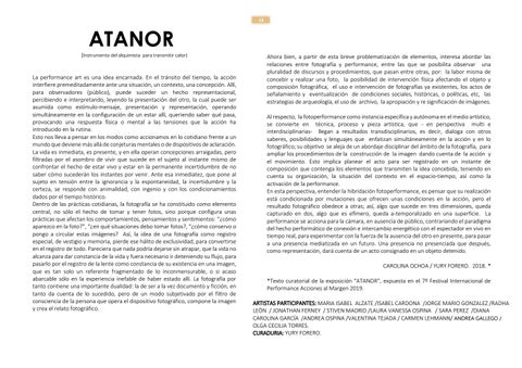 Page 13 of Atanor. Por Yury Forero y Carolina Ochoa