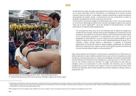 Page 31 of La performance como práctica documental Por Laurentino López