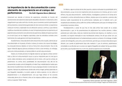Page 5 of La importancia de la documentación como elemento de experiencia en el campo del