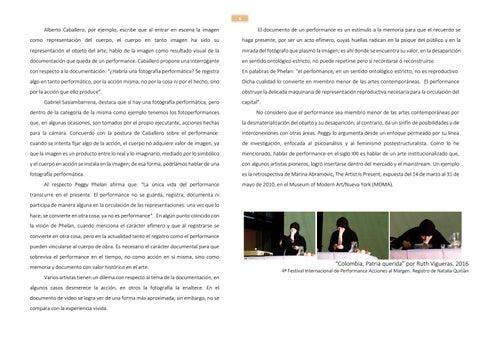 Page 6 of Por qué hacer performance art en Bucaramanga? Decálogo del arte acción para la