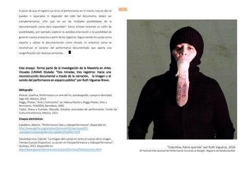 Page 7 of Por qué hacer performance art en Bucaramanga? Decálogo del arte acción para la