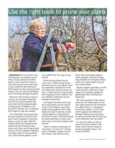 Page 37 of Use the right tools to prune your plants