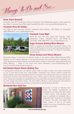 Page 10 of Things To Do and See