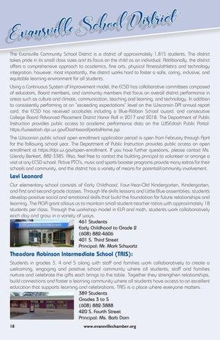 Page 18 of Evansville School District