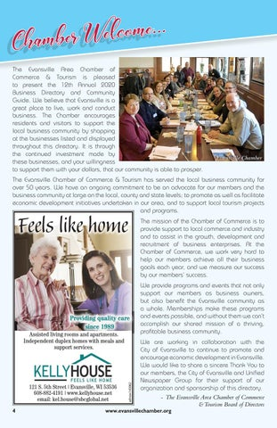 Page 4 of Chamber Welcome