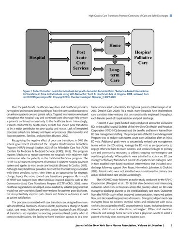Page 7 of High-Quality Care Transitions Promote Continuity of Care and Safer Discharges by Dana Deravin Carr, DrPH, MS, MPH, RN-BC, CCM