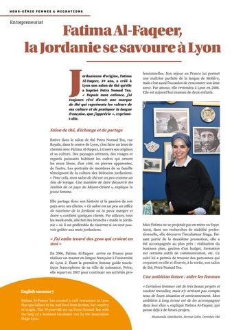 Page 36 of Fatima Al-Faqeer, la Jordanie se savoure à Lyon