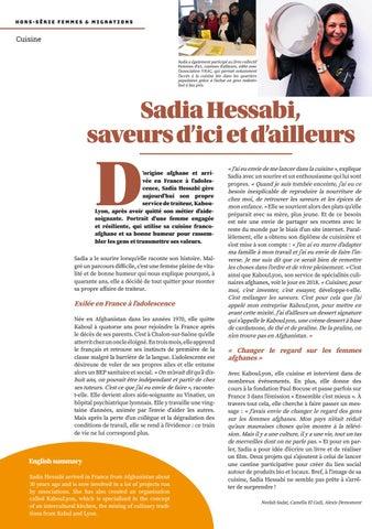 Page 38 of Sadia Hessabi, de Kaboul à Lyon, saveurs d'ici et d'ailleurs