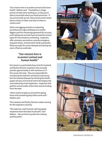 Page 61 of Livestock Inspectors are Essential for Protection