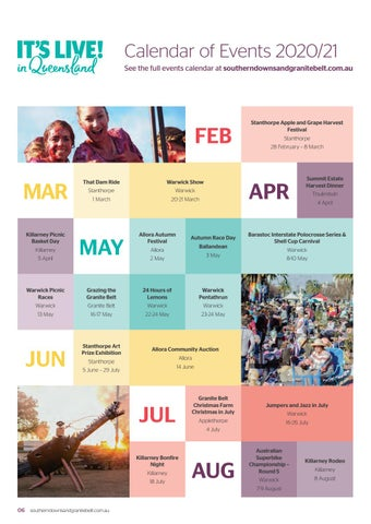 Page 8 of Events Calendar