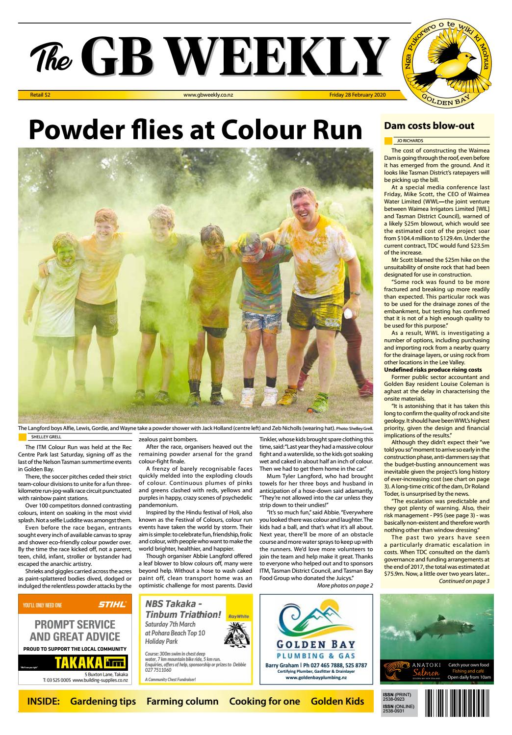 The Golden Bay Weekly 28 February 2020 By Charlotte Richards Issuu