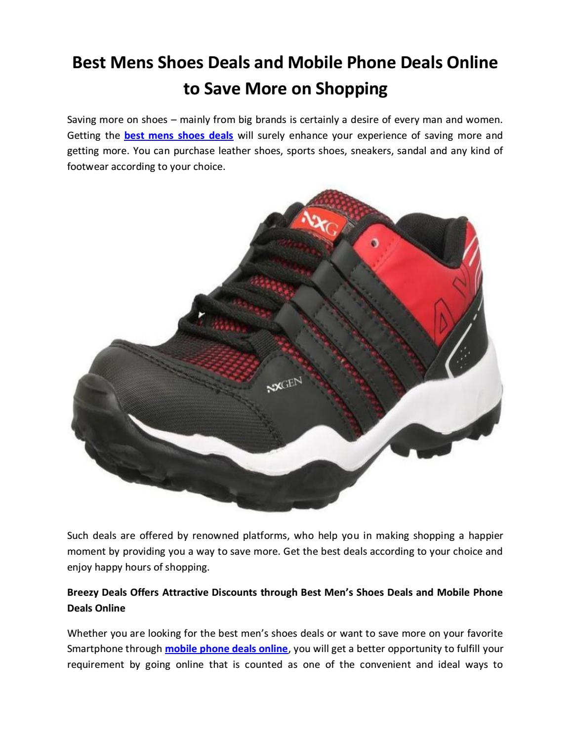 Best Mens Shoes Deals and Mobile Phone