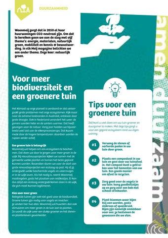 Page 9 of Zorg goed voor de vogels in uw tuin: hang zaadbolletjes op en zorg voor een bak met schoon drinkwater