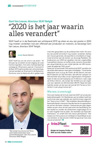 Page 34 of Interview Gert Van Leeuw (SEAT