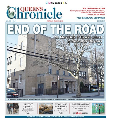 Queens Chronicle South Edition 03 12 20 By Queens Chronicle Issuu