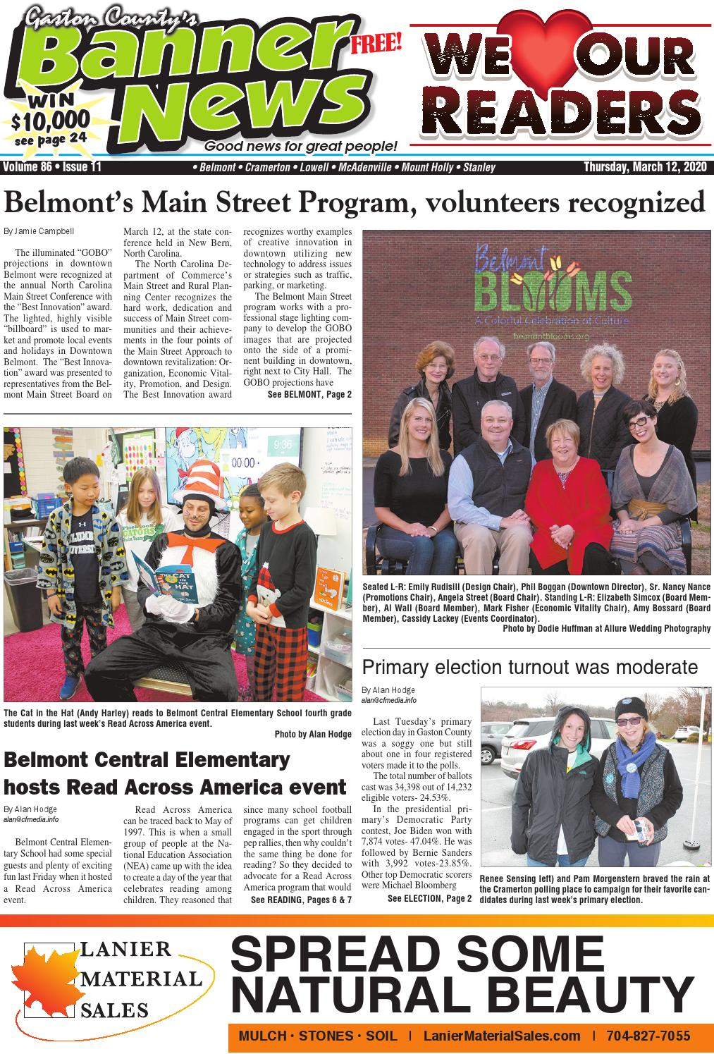 Banner News 3 12 20 By Community First Media Issuu