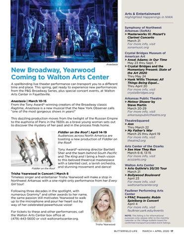Page 17 of Walton Arts Center
