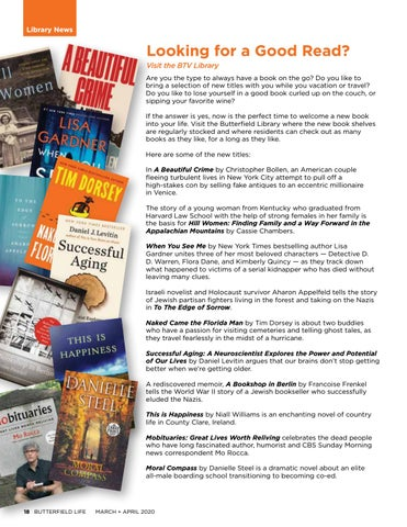 Page 18 of Library News