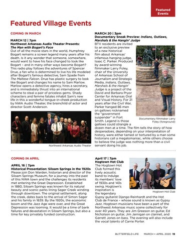Page 19 of Featured Village Events