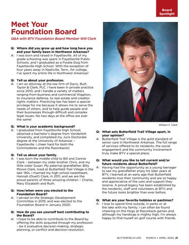 Page 21 of Foundation News