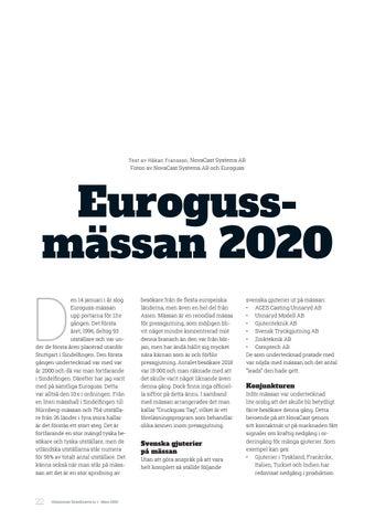 Page 22 of Eurogussmässan 2020