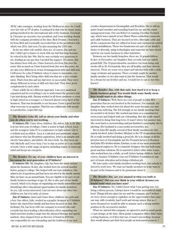 Page 33 of John D'Addario III and Jim D'Addario D'Addario & Co. Inc.