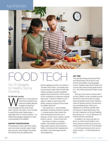 Page 20 of Food Tech: Go-to gadgets for healthy spring cooking