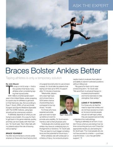 Page 7 of Braces bolster ankles better than taping