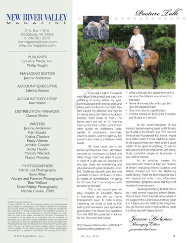 Page 9 of Pasture Talk