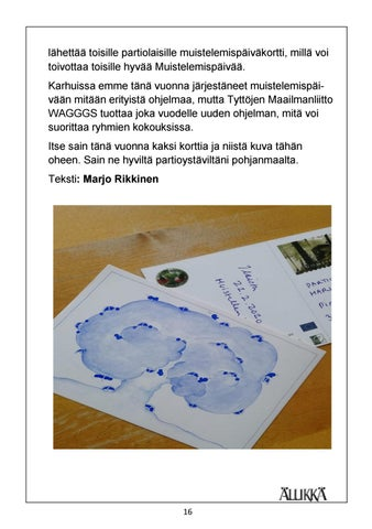 Page 16 of Muistokirjoitus Markku Olavi Puustinen