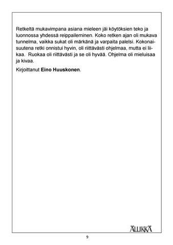 Page 9 of Kettu vartion päiväretki