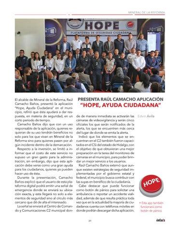 Page 23 of MINERAL DE LA REFORMA