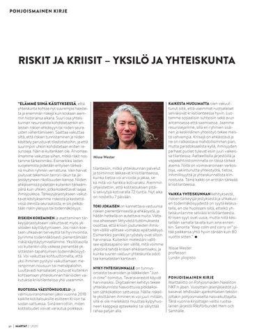 Page 30 of Pohjoismainen kirje: Riskit ja